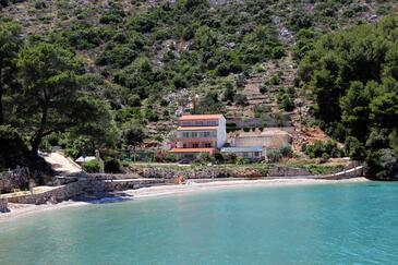 Prapatna, Hvar, Imobil 5704 - Cazare în apropierea mării cu plajă cu pietriș.