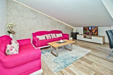Hvar, Camera di soggiorno nell'alloggi del tipo apartment, WiFi.