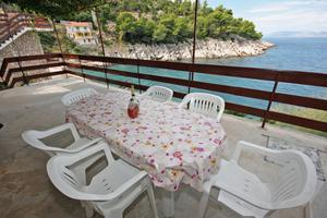 Seaside secluded apartments Cove Pobij (Hvar) - 5712
