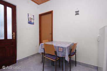 Pobij, Dining room in the apartment, WiFi.