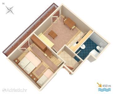 Stari Grad, Proiect în unitate de cazare tip apartment, WiFi.