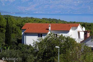 Pitve, Hvar, Property 5726 - Apartments with sandy beach.