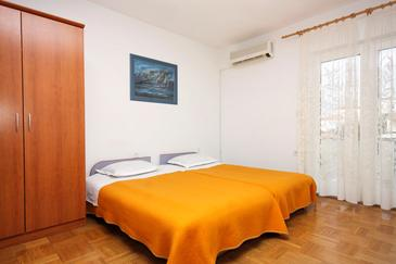 Hvar, Obývacia izba v ubytovacej jednotke apartment, dostupna klima, dopusteni kucni ljubimci i WIFI.