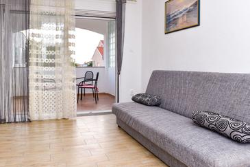 Srima - Vodice, Living room in the apartment, WIFI.
