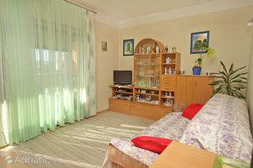 Biograd na Moru, Living room in the apartment, WiFi.