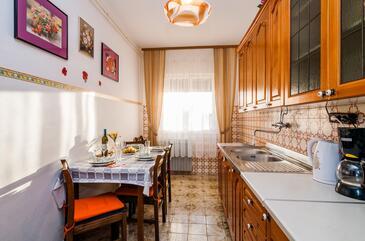 Privlaka, Jídelna v ubytování typu apartment, WiFi.