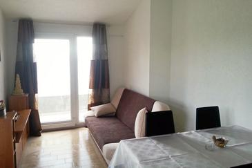 Uvala Torac, Living room 1 in the apartment.