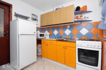 Bibinje, Kuchyně v ubytování typu apartment, domácí mazlíčci povoleni a WiFi.