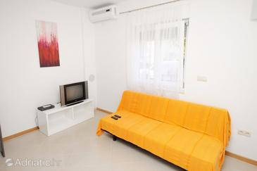 Zadar, Living room in the apartment.