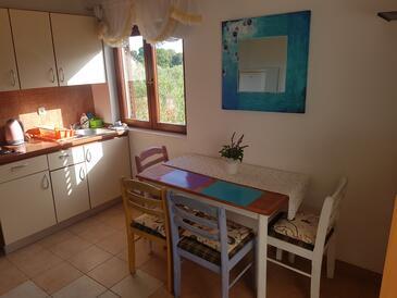 Bibinje, Столовая в размещении типа apartment, доступный кондиционер, Домашние животные допускаются и WiFi.