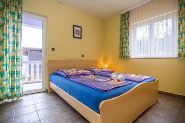 Zadar - Diklo, Spálňa v ubytovacej jednotke room, WiFi.