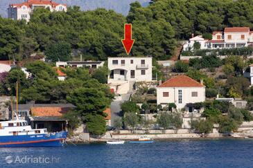 Sumartin, Brač, Property 5771 - Apartments by the sea.