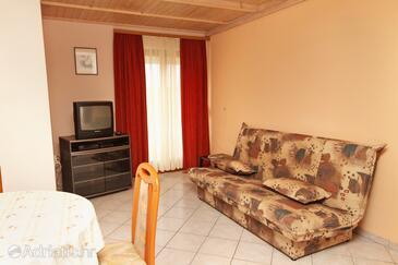 Zadar - Diklo, Living room in the apartment, WIFI.