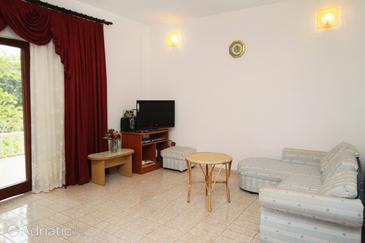 Vrsi - Mulo, Living room in the apartment, (pet friendly) and WiFi.