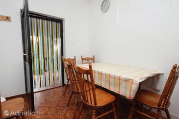 Vrsi - Mulo, Столовая в размещении типа apartment, WiFi.