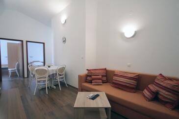 Vinjerac, Living room in the apartment, dopusteni kucni ljubimci i WIFI.