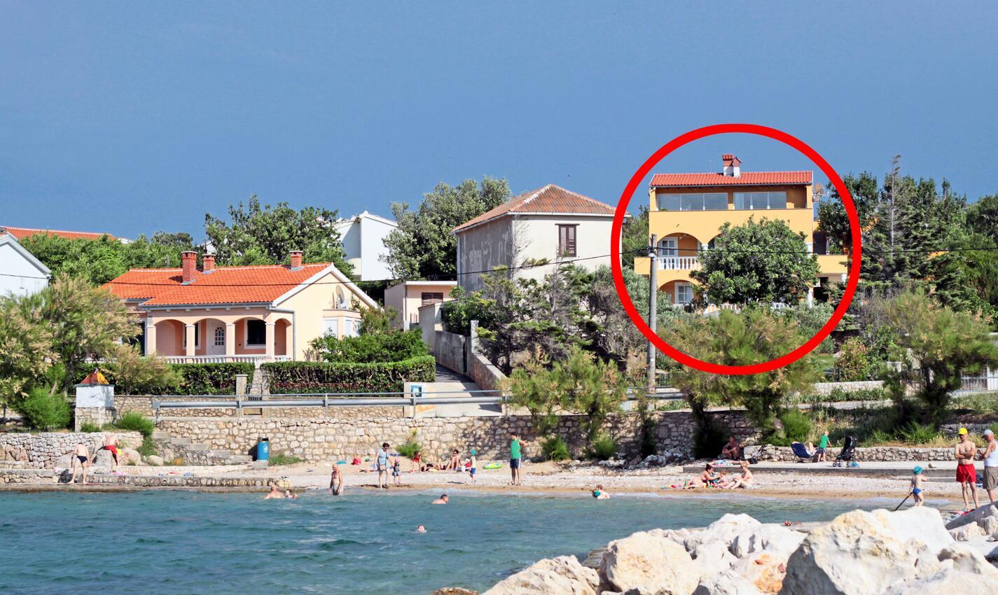 Ferienwohnung im Ort Vinjerac (Zadar), Kapazität 4+0 (1510659), Kroatien, Dalmatien, , Vinjerac