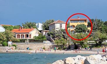Vinjerac, Zadar, Objekt 5824 - Ubytovanie blízko mora s piesočnatou plážou.