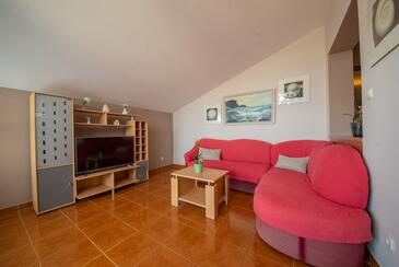 Vrsi - Mulo, Living room in the apartment, WiFi.