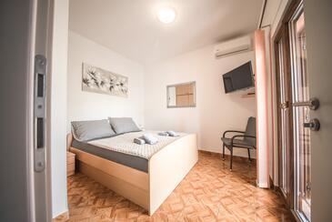 Vrsi - Mulo, Спальня в размещении типа room, доступный кондиционер и WiFi.