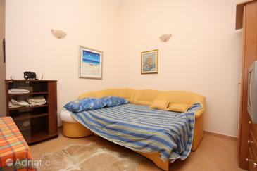 Zadar - Diklo, Living room in the studio-apartment.