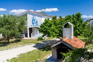 Nin, Zadar, Объект 5857 - Апартаменты с песчаным пляжем.