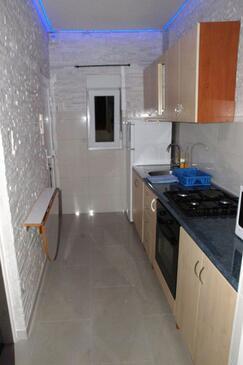 Nin, Kuchyně v ubytování typu apartment, domácí mazlíčci povoleni a WiFi.