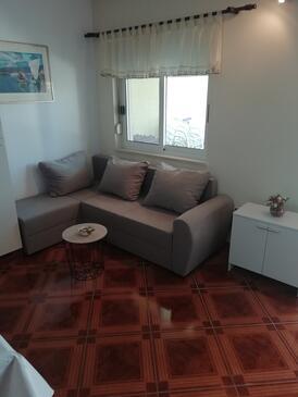 Vrsi - Mulo, Obývací pokoj v ubytování typu apartment, WiFi.