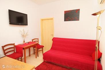 Zadar, Dining room in the apartment, dopusteni kucni ljubimci i WIFI.