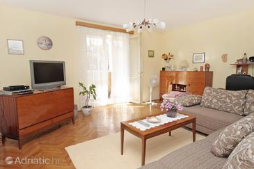 Zadar, Living room in the apartment, WIFI.