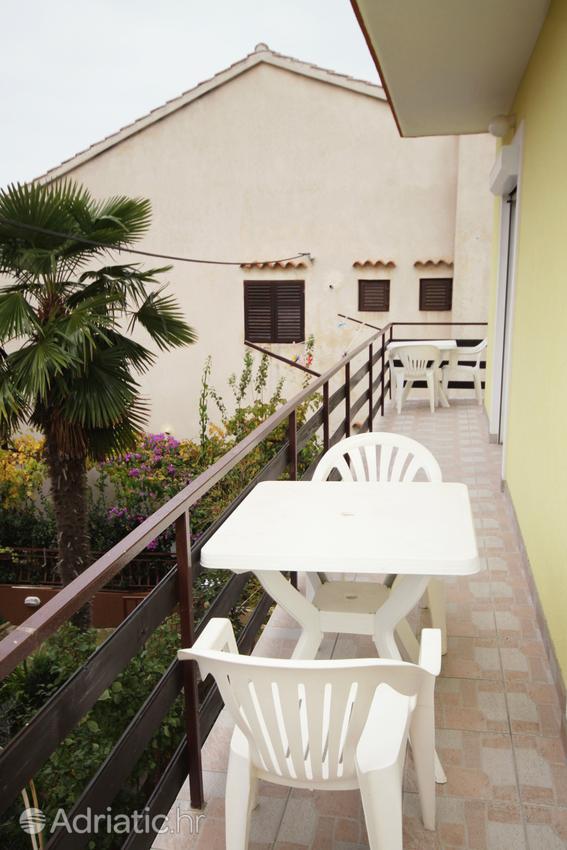 Zadar - Diklo, Balkón 1 v ubytovacej jednotke apartment, s výhľadom na more a WiFi.