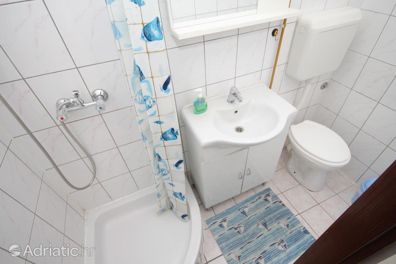 Zadar - Diklo, Kúpeľňa 2 v ubytovacej jednotke apartment, WiFi.