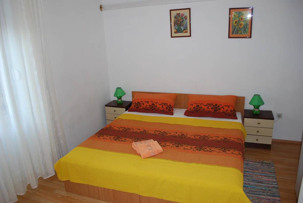 Zadar - Diklo, Spálňa 3 v ubytovacej jednotke apartment, WiFi.