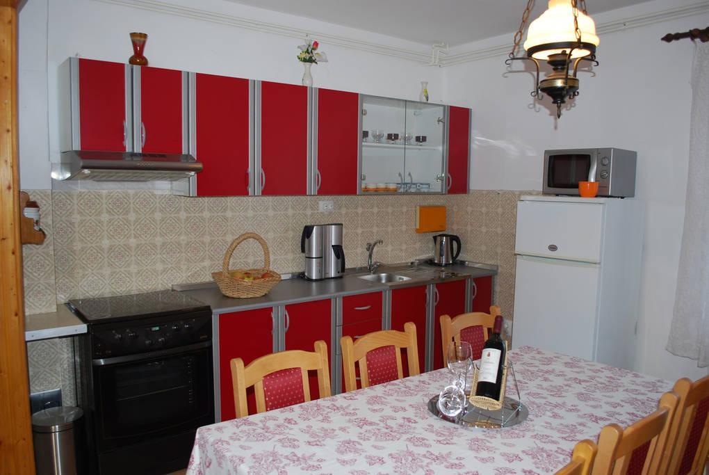 Zadar - Diklo, Kuchyňa v ubytovacej jednotke apartment, WiFi.