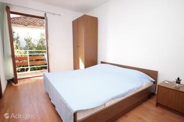Vodice, Bedroom in the room.