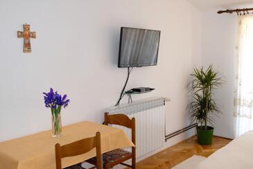 Zadar - Diklo, Jedilnica v nastanitvi vrste studio-apartment, WiFi.