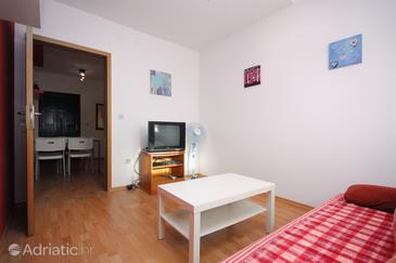 Sabunike, Living room in the apartment.