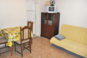 Zadar - Diklo, Living room in the studio-apartment, WIFI.