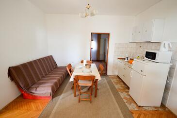 Zadar - Diklo, Столовая в размещении типа apartment, WiFi.