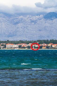 Vrsi - Mulo, Zadar, Property 5951 - Apartments near sea with pebble beach.