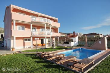 Trogir, Trogir, Property 5963 - Apartments with pebble beach.
