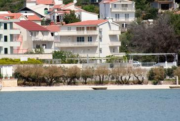 Marina, Trogir, Property 5968 - Apartments near sea with pebble beach.