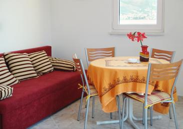 Okrug Donji, Dining room in the apartment, WIFI.