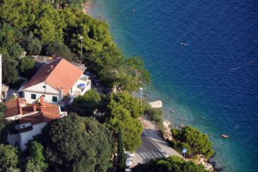 Omiš, Omiš, Objekt 6003 - Ubytování v blízkosti moře s písčitou pláží.