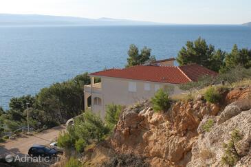 Brela, Makarska, Objekt 6006 - Ubytování v blízkosti moře s oblázkovou pláží.