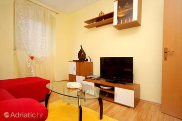 Split, Living room in the apartment.