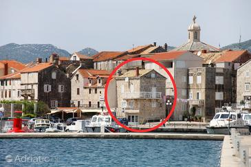 Korčula, Korčula, Property 6016 - Apartments near sea with pebble beach.