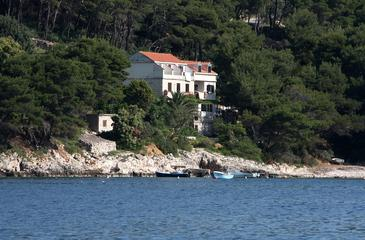 Saplunara, Mljet, Property 602 - Rooms near sea with sandy beach.