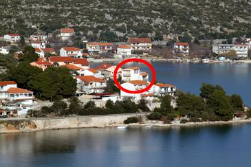 Poljica, Trogir, Property 6020 - Apartments near sea with pebble beach.