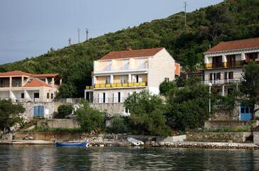 Polače, Mljet, Obiekt 604 - Kwatery przy morzu.